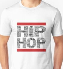 Hip Hop in White T-Shirt