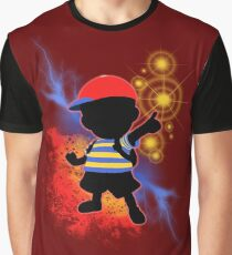 Super Smash Bros. Ness Silhouette Graphic T-Shirt