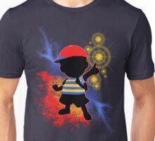 Super Smash Bros. Ness Silhouette Unisex T-Shirt