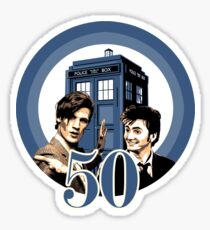 Hello; We're the Doctor ! Sticker