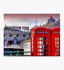 Phone Home - Brighton - Orton Photographic Print