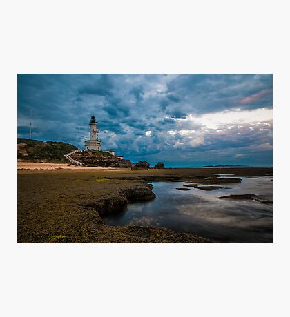 Storm over the Lighthouse Photographic Print