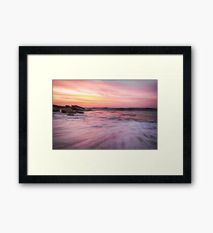 Watercolour Sunrise Framed Print