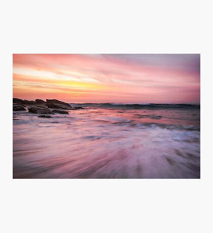Watercolour Sunrise Photographic Print