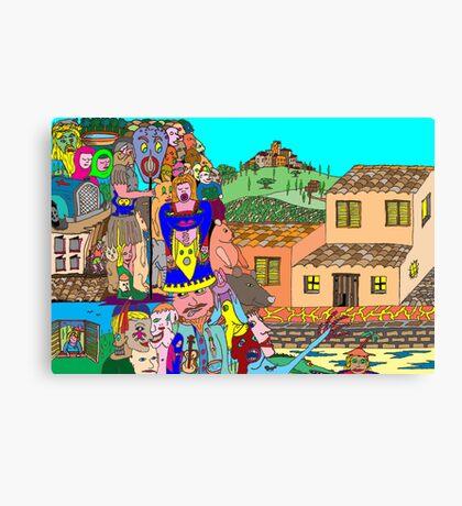 Tuscany intruders Canvas Print