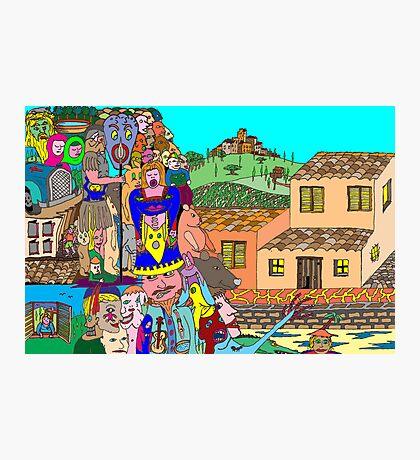 Tuscany intruders Photographic Print