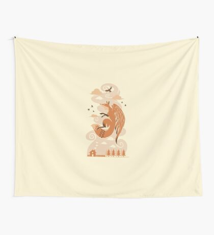The Flying Fox Wall Tapestry