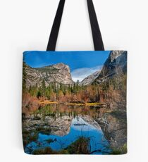 Mirror Lake - Horizontal Tote Bag