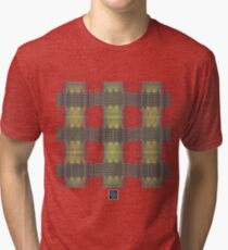 """""""Magnetic Flux in a Superconductor""""© Tri-blend T-Shirt"""