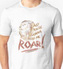ROAR [Katy Perry lyrics] T-Shirt