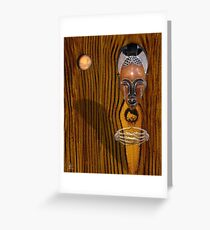tikar bruxa Greeting Card