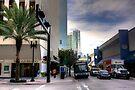 Miami- NE 1st Avenue by Bill Wetmore
