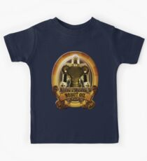 Mortimors Robot Oil. Kids Tee