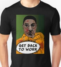 GET BACK TO WORK (Comic version) T-Shirt