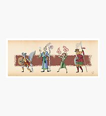 The Races of Cleadonia 1 Photographic Print