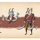 The Races of Cleadonia 2 by Skulldixon