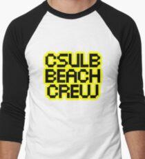 CSULB Beach Crew Men's Baseball ¾ T-Shirt