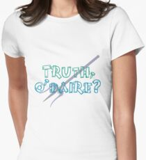 Truth or Dare? Women's Fitted T-Shirt