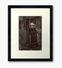 Child Of The Street Framed Print