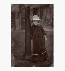 Child Of The Street Photographic Print