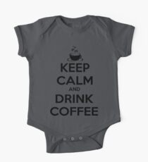 keep calm and drink coffee One Piece - Short Sleeve