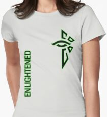 Ingress Enlightened with text T-Shirt