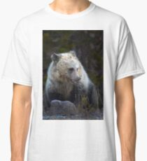 Grizzly Bear Cub-Signed-#3708 Classic T-Shirt