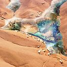 Martian Oasis by Ludovic Celle