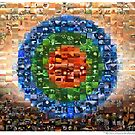 The Mars Trilogy Mosaic by Ludovic Celle