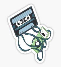 Cassettes Revenge shirt Sticker