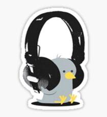 Music Bird Sticker