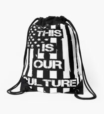 American Beauty/American Psycho (Fall Out Boy) Drawstring Bag