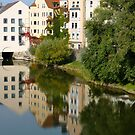 Regensburg reflections by SUBI