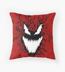 Carnage Throw Pillow