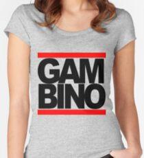 RUN GAMBINO Women's Fitted Scoop T-Shirt