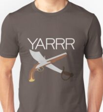 """YARRR"" Flintlock and Steel T-Shirt"