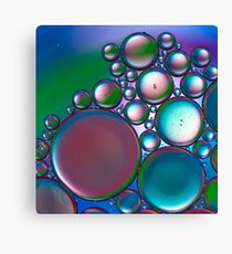 Oil and Water 11 Canvas Print