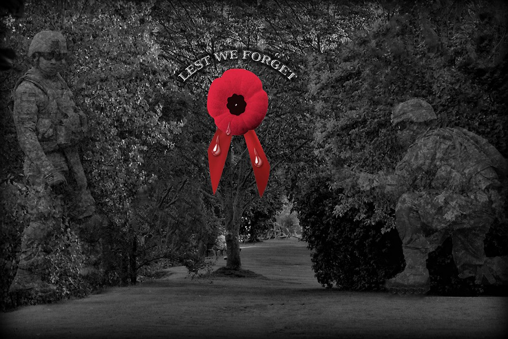 █ ♥ █ † ❤ † A POPPY CRIES - LEST WE FORGET █ ♥ █ † ❤ † by ✿✿ Bonita ✿✿ ђєℓℓσ