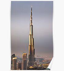 HDR Burj Khalifa Poster
