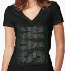 syn-ack Women's Fitted V-Neck T-Shirt