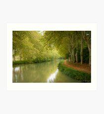 Canal du Midi 11 Art Print