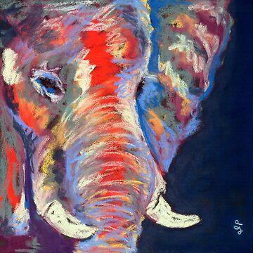 Celebration Elephant by soulofanimals