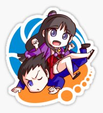 Phoenix and Maya Sticker