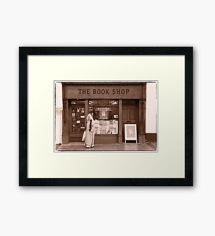The Book Shop Framed Print
