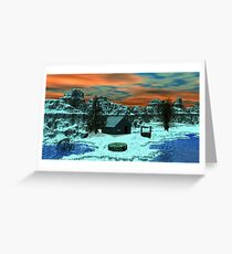 Guess What's Coming Greeting Card