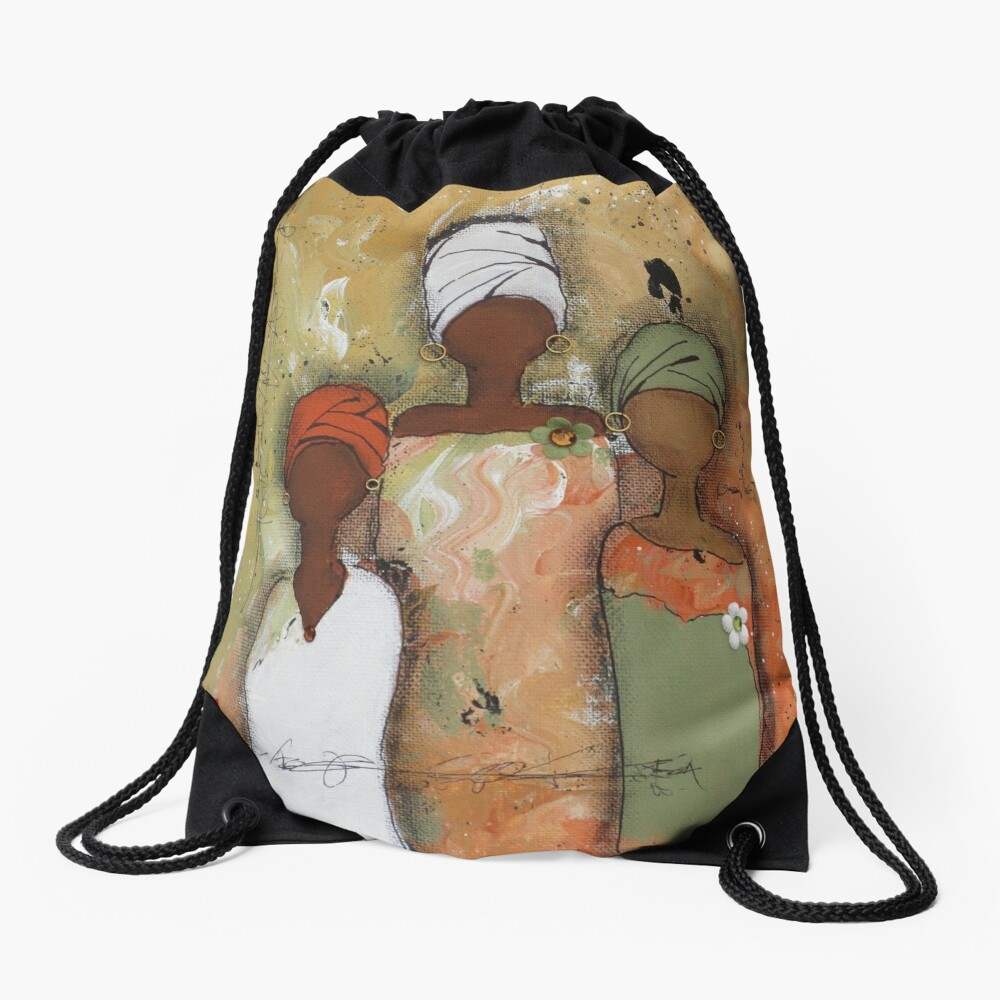 Sisterhood Series 2 Drawstring Bag Front