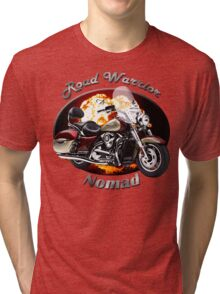 Kawasaki Nomad Road Warrior Tri-blend T-Shirt
