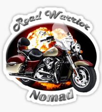 Kawasaki Nomad Road Warrior Sticker
