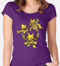 Abra, Kadabra and Alakazam Women's Fitted Scoop T-Shirt