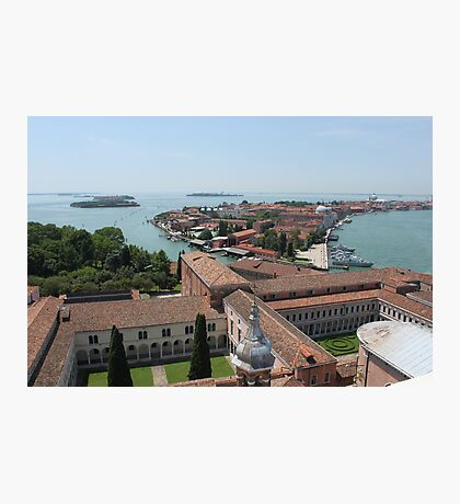 Venice birds eye view Photographic Print